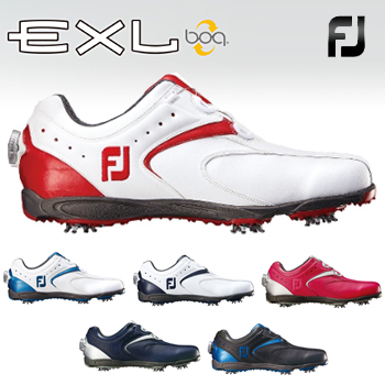 FOOTJOYフットジョイ日本正規品EXL Boa(イーエックスエルボア)ソフトスパイクゴルフシューズ【あす楽対応】