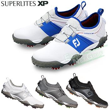 【【最大3000円OFFクーポン】】FOOTJOY(フットジョイ)日本正規品 SUPERLITES XP(スーパーライトエックスピー) Boa搭載ソフトスパイクゴルフシューズ 2019新製品 ウィズ:W(EE) 【あす楽対応】