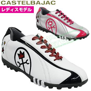 【【最大3000円OFFクーポン】】CASTELBAJAC(カステルバジャック)日本正規品レディスゴルフシューズ「CBK105」【あす楽対応】