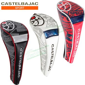 爆買い新作 激安40%OFF CASTELBAJAC カステルバジャック 日本正規品 ワッペン柄フェアウェイウッドカバー 激安セール あす楽対応 CBF013