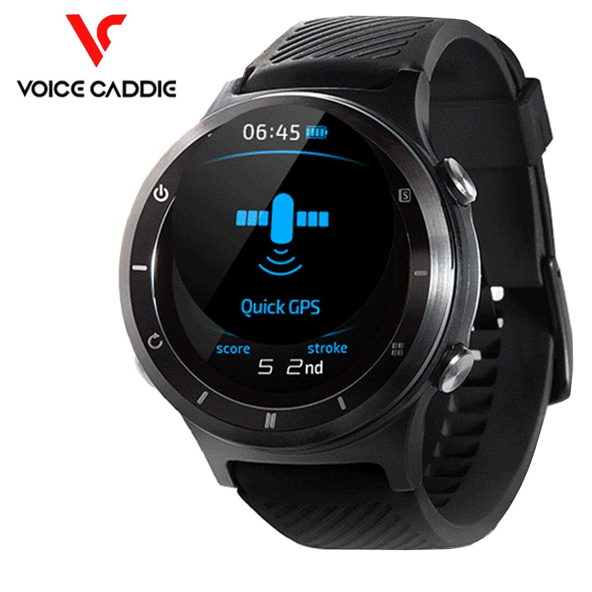 voice caddie(ボイスキャディ) プレミアム ゴルフウォッチ GPSゴルフナビ T6 「腕時計型GPS距離測定器」
