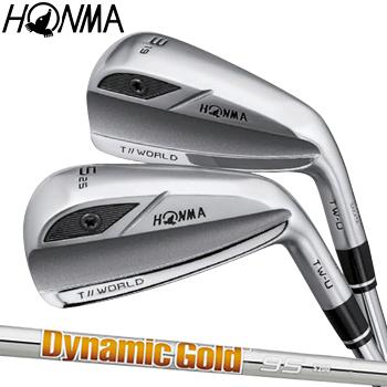 【【最大3300円OFFクーポン】】HONMA GOLF(本間ゴルフ) 日本正規品 TOUR WORLD(ツアーワールド) TW-U ユーティリティ 2019モデル DynamicGold95スチールシャフト