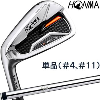 【【最大3300円OFFクーポン】】HONMA GOLF(本間ゴルフ) 日本正規品 TOUR WORLD(ツアーワールド) TW747 P アイアン 2019モデル N.S.PRO950GHスチールシャフト 単品(I#4、I#11) ※レフトハンドモデル(左用)※