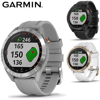 【【最大3300円OFFクーポン】】GARMIN(ガーミン)日本正規品 スマートウォッチ機能搭載距離測定器 腕時計型GPSゴルフナビ APPROACH(アプローチ) S40 「010-02140」2019モデル 【あす楽対応】