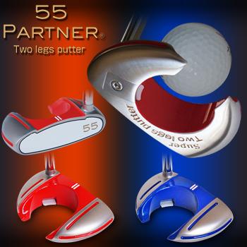 55PARTNER(ゴーゴーパートナー)Super Two legs putter(スーパーツーレッグスパター)