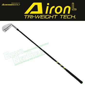 A DESIGN GOLFA IRON LTRI-WEIGHT TECHスイング練習器「ゴルフ練習用品」【あす楽対応】