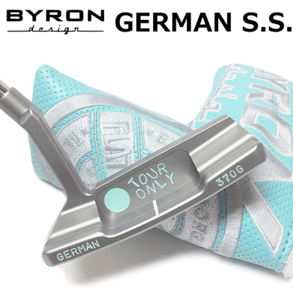 【【最大3300円OFFクーポン】】BYRON design(バイロンデザイン) GSSパター ベイビーブルー刻印 GERMAN S.S. 370G Baby Blue
