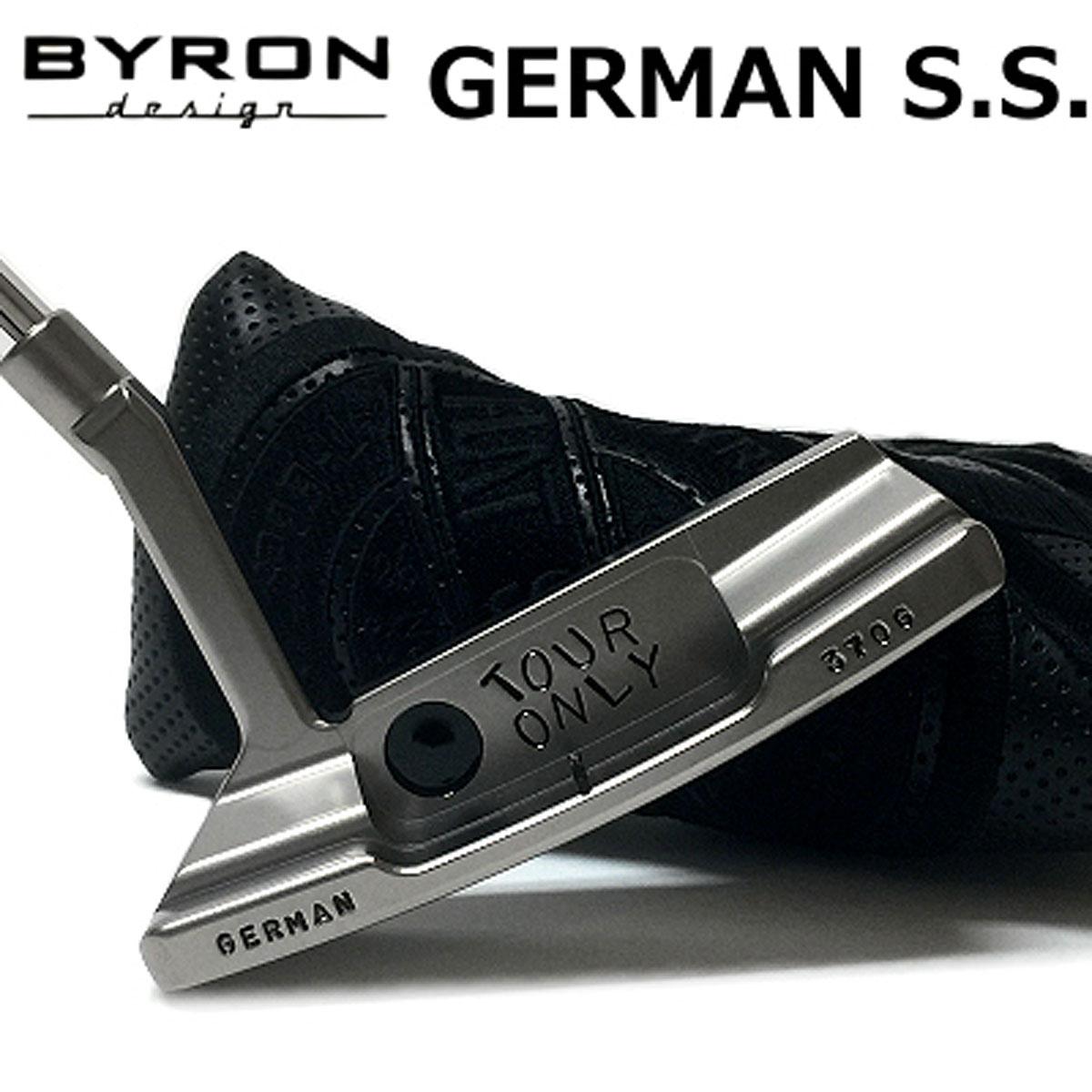 【【最大3300円OFFクーポン】】BYRON design(バイロンデザイン) GSSパター シャンペーンブラック仕上げ GERMAN S.S. 370G Champane Black