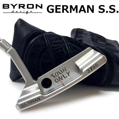 【【最大3300円OFFクーポン】】BYRON design(バイロンデザイン) インスパイヤード バイ ヒデキGSSパター GERMAN S.S. 370G