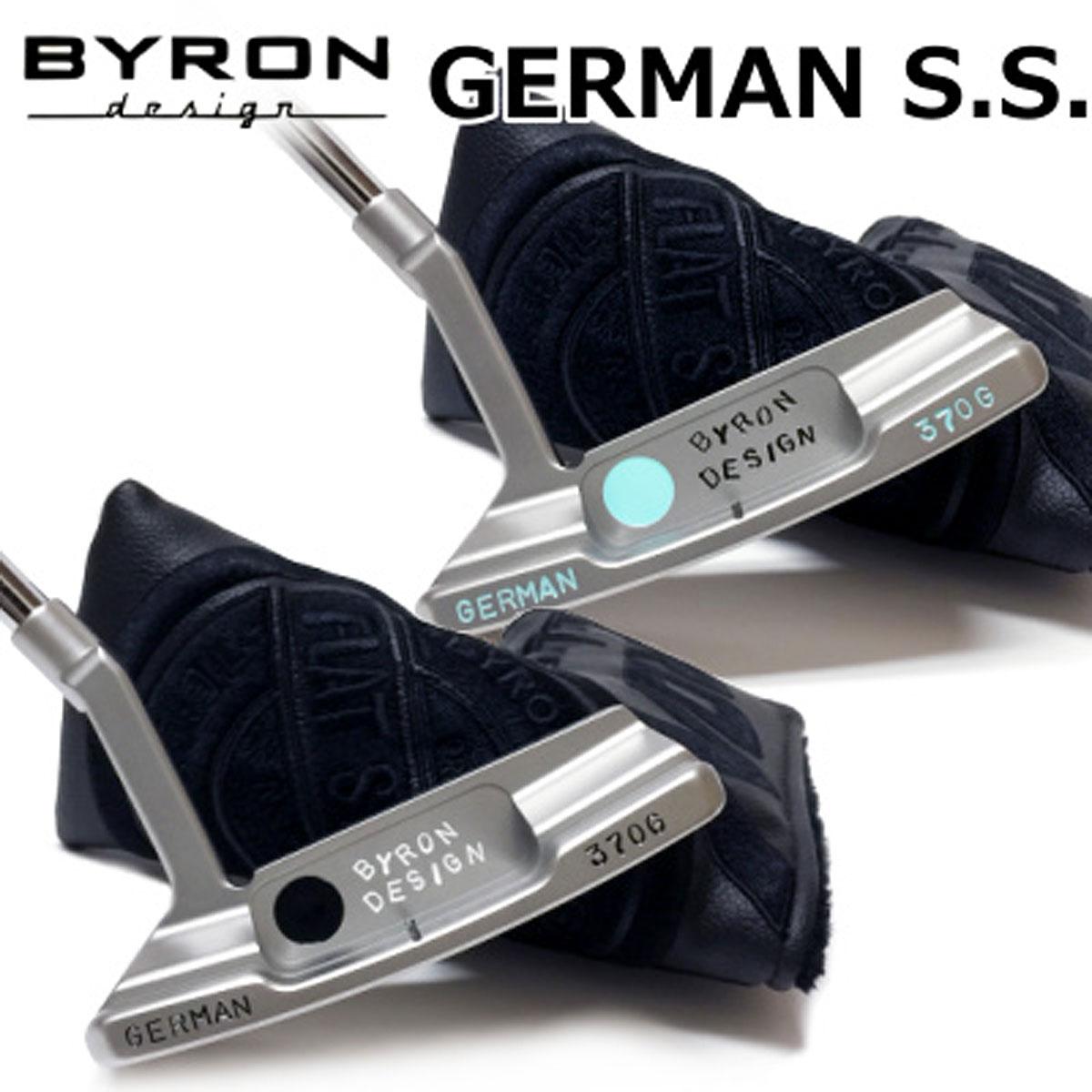 【【最大3300円OFFクーポン】】BYRON design(バイロンデザイン) インスパイヤード バイ ヒデキGSSパター第2弾 GERMAN S.S. 370G