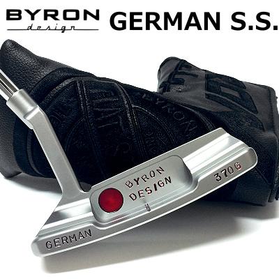 【【最大3300円OFFクーポン】】BYRON design(バイロンデザイン) インスパイヤード バイ タイガーGSSパター GERMAN S.S. 370G