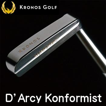 Kronos GOLF(クロノス ゴルフ)日本正規品D'Arcy Konformist(ダーシーコンフォーミスト)パター