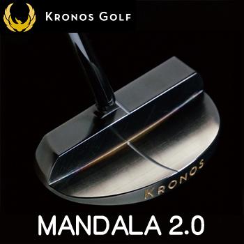 【【最大3000円OFFクーポン】】Kronos GOLF(クロノス ゴルフ)日本正規品MANDALA2.0(マンダラ2.0)パター【あす楽対応】