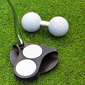 Golfit ゴルフイット LiTE ライト 日本正規品 ダブルパッティングボール ギフ_包装 ゴルフパター練習用品 ギフト プレゼント ご褒美 パッティング練習用ボール G-171