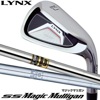 Lynx(リンクス)日本正規品SS Magic Mulligan(マジックマリガン)アイアンスチールシャフト4本セット(I#7~I#9、PW)