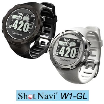 腕時計型GPS測定ナビゲーションShotNavi W1-GL(ショットナビ ダブルワンジーエル)【あす楽対応】