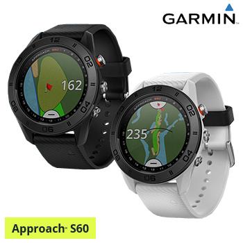 【【最大4999円OFFクーポン】】ガーミン(GARMIN)日本正規品高性能GPS距離測定器腕時計型GPSゴルフナビAPPROACH(アプローチ) S60スタンダードモデル「010-01702」【あす楽対応】