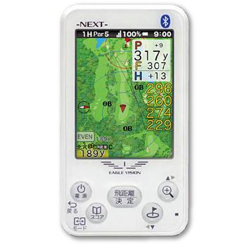【【最大3300円OFFクーポン】】EAGLE VISION NEXT イーグルビジョン ネクスト 高性能GPS搭載距離測定器 ゴルフナビゲーション 「EV-732」 【あす楽対応】
