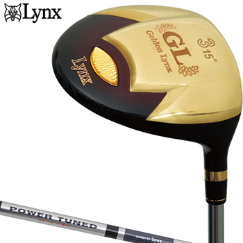 【【最大3300円OFFクーポン】】Lynx(リンクス)日本正規品Golden Lynx II(ゴールデンリンクス2)フェアウェイウッドLynx Power TunedExtra Lightカーボンシャフト