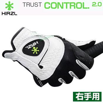 【【最大3900円OFFクーポン】】HIRZL(ハーツェル)日本正規品 TRUST CONTROL2.0 ゴルフグローブ メンズモデル(右手用) 「CONTROL2 MR」【あす楽対応】