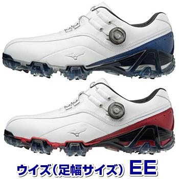 MIZUNO(ミズノ)日本正規品 GENEM 008 Boa ジェネム008ボアソフトスパイクゴルフシューズ 2018モデル 「51GP1800(EE)」【あす楽対応】