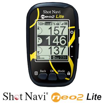 白黒液晶タイプGPS測定ナビゲーションShotNavi NEO2 Lite(ショットナビ ネオツーライト)【あす楽対応】
