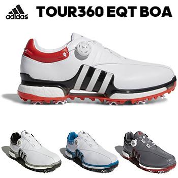 アディダスゴルフ日本正規品TOUR360 EQT Boa ソフトスパイクゴルフシューズ 2018モデル 「WI975」【あす楽対応】