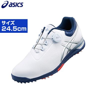 ASICS(アシックス)日本正規品 GEL-ACE TOUR3 Boa (ゲルエースツアースリーボア) ソフトスパイクゴルフシューズ サイズ:24.5cm 「TGN923」