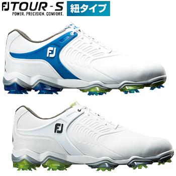 FOOTJOY(フットジョイ)日本正規品 TOUR S(ツアーエス 紐タイプ) 2018モデル ソフトスパイクゴルフシューズ【あす楽対応】