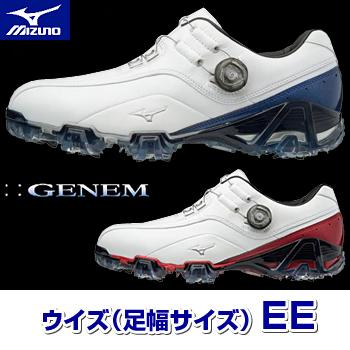 MIZUNO(ミズノ)日本正規品 GENEM 008 Boa ジェネム008ボアソフトスパイクゴルフシューズ 2018新製品 「51GP1800(EE)」【あす楽対応】