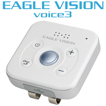 高精度ハイブリッドGPS対応距離測定器 EAGLE VISION voice3 (イーグルビジョンボイススリー) ゴルフナビゲーション「EV-803」【あす楽対応】
