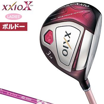 ダンロップ日本正規品 XXIOX(ゼクシオテン) レディスフェアウェイウッド ゼクシオMP1000Lカーボンシャフト 2018モデル レディスモデル「ボルドー」