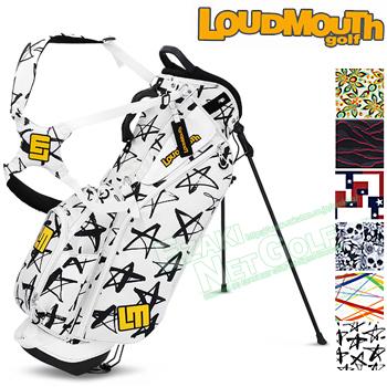 【新色登場】 LOUDMOUTH GOLF (ラウドマウス ゴルフ)日本正規品 8.5型スタンドバッグ 2018モデル 「LM-CB0007」【あす楽対応】