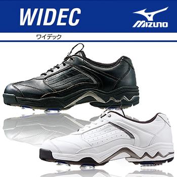 MIZUNO(ミズノ)日本正規品WIDEC(ワイデック)ソフトスパイクゴルフシューズ「45KM302」