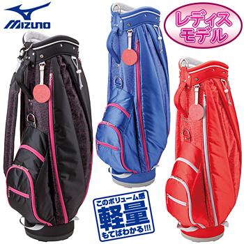 MIZUNO(ミズノ)日本正規品+me(プラスミー)キャディバッグ「5LJC15W100」※レディスモデル※