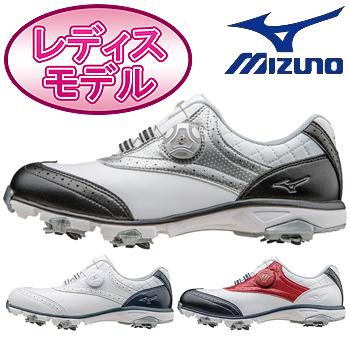 MIZUNO(ミズノ)日本正規品NEXLITE 003 Boa(W)ネクスライト003ボア(W)ソフトスパイクゴルフシューズ「51GW1610」※レディスモデル※