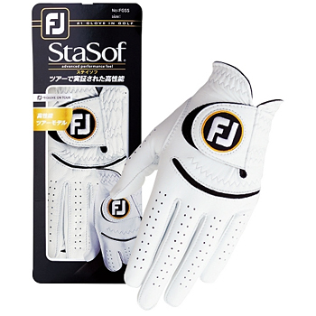 Footjoy(フットジョイ)日本正規品 StaSof(ステイソフ) 最高級天然羊革使用ゴルフグローブ(左手用) 「FGSS17」 【あす楽対応】