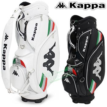 キャディバッグ Kappa [カッパゴルフ2017MODELバッグ] 【新品】 KG718BA21サイズ:9.5型/3.7kg 【送料無料】 【日本正規品】