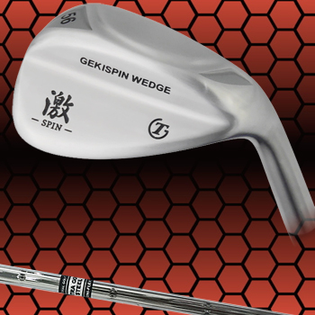 【【最大3300円OFFクーポン】】トライアルゴルフ日本正規品GEKI-SPIN WEDGE激スピンウェッジ専用スチールシャフト