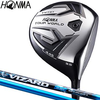 HONMA GOLF本間ゴルフ日本正規品TOUR WORLD(ツアーワールド)TW737 445ドライバーVIZARD EX-Z 65カーボンシャフト【あす楽対応】