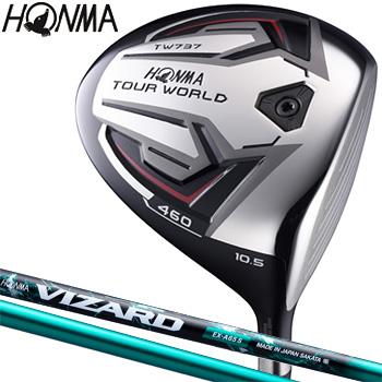 【【最大3000円OFFクーポン】】HONMA GOLF(本間ゴルフ)日本正規品 TOUR WORLD(ツアーワールド) TW737 460ドライバー VIZARD EX-A65カーボンシャフト【あす楽対応】