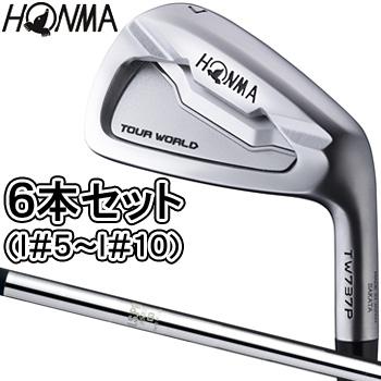 HONMA GOLF本間ゴルフ日本正規品TOUR WORLD(ツアーワールド)TW737 PポケットキャビティアイアンNSPRO950GHスチールシャフト6本セット(I#5~I#10)【あす楽対応】