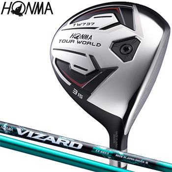 HONMA GOLF(本間ゴルフ)日本正規品 TOUR WORLD(ツアーワールド) TW737 FW フェアウェイウッド VIZARD EX-A55カーボンシャフト【あす楽対応】