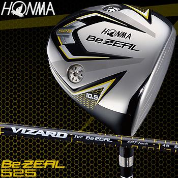 HONMA GOLF本間ゴルフ日本正規品Be ZEAL(ビジール)525 ドライバーVIZARD for Be ZEALカーボンシャフト