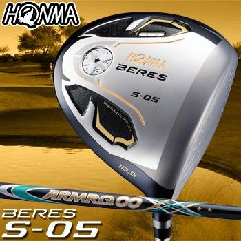 【【最大3000円OFFクーポン】】HONMA GOLF本間ゴルフ日本正規品BERES(ベレス)S-05 2Sグレード ドライバーARMRQ∞44カーボンシャフト