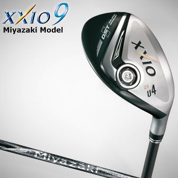 「Miyazaki Model」 ダンロップ日本正規品XXIO9(ゼクシオ ナイン) ユーティリティ Miyazaki Melasカーボンシャフト【あす楽対応】