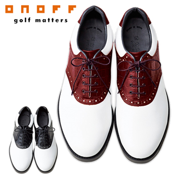 ONOFF(オノフ)日本正規品日本製本革ゴルフシューズOS0316