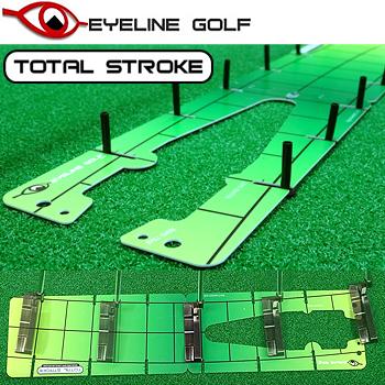 即納 正規激安 EYELINE GOLF アイラインゴルフ セール特別価格 TOTAL STROKE ゴルフパター練習用品 あす楽対応 ELG-TS24 トータルストローク