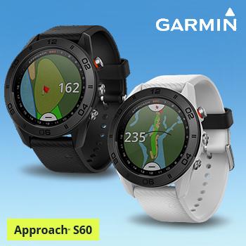 2017モデルガーミン(GARMIN)日本正規品高性能GPS距離測定器腕時計型GPSゴルフナビAPPROACH(アプローチ) S60スタンダードモデル「010-01702」【あす楽対応】