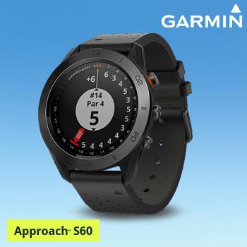 【【最大3000円OFFクーポン】】2017モデル ガーミン(GARMIN)日本正規品 高性能GPS距離測定器 腕時計型GPSゴルフナビ APPROACH(アプローチ) S60 Ceramic(セラミック)モデル 「010-01702」 【あす楽対応】